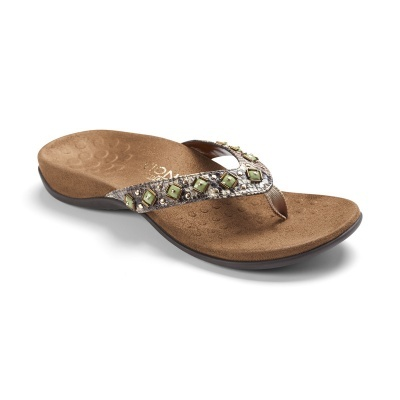 Vionic Vionic Floriana Toe Post Sandal-Natural